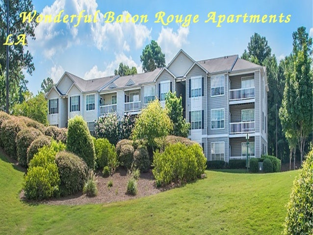 Want Amazing Apartments In Baton Rouge LA