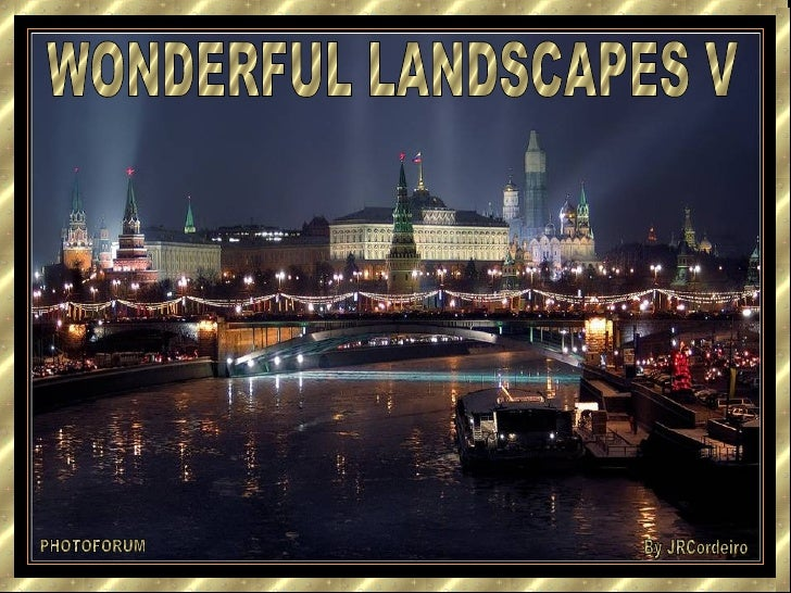 WONDERFUL LANDSCAPES V PHOTOFORUM By JRCordeiro