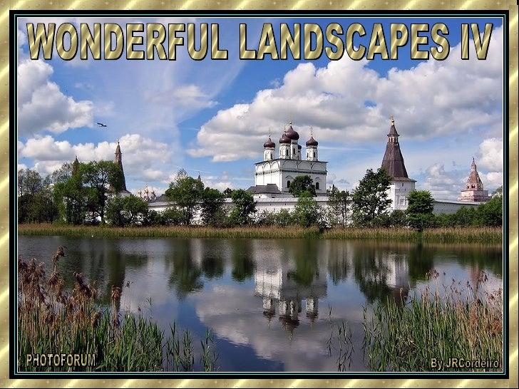 WONDERFUL LANDSCAPES IV PHOTOFORUM By JRCordeiro