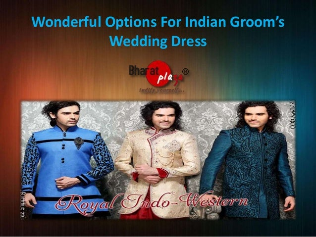 Wonderful Options For Indian Groom's Wedding Dress