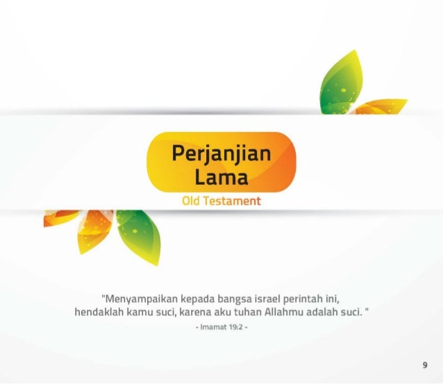 "Peñanñan Lana  ; ment  ""Menyampaikan kepada bangsa israel perintah ini,  hendaklah kamu suci,  karena aku tuhan Allahmu ad..."