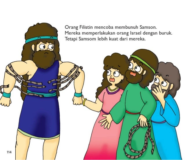 """""""Aku ingin melakukan apapun yang ku inginkan. """"  Samson tidak menaati Allah.   Dia tidak menaati orangtuanya.  Samson juga..."""