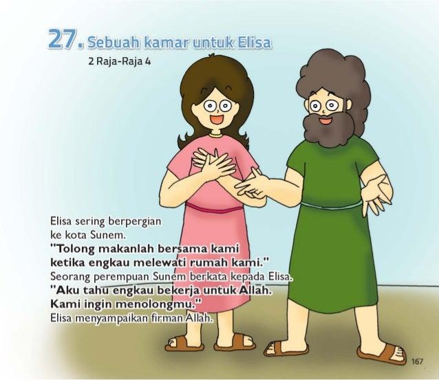 Perempuan Sunem dan suaminya ingin menolong Elia.  Mereka mengundangnya untuk makan malam.   Elisa mau makan bersama merek...