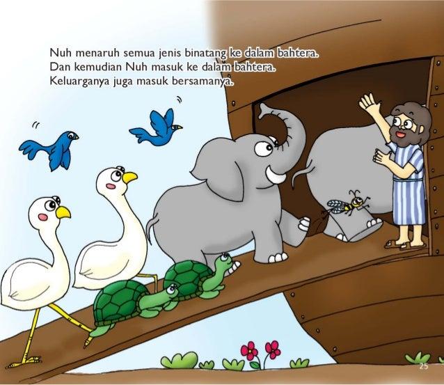 {  Nuh menaruh semua jenis binatapgakegalamj baljêfçinaz.  Dan kemudian Nuh masuk ke dalamnbahtlena: :  Keluarganya juga m...