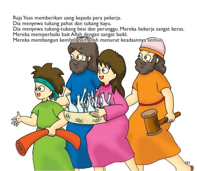 Mereka membuat perkakas-perkakas baitAllah dengan kelebihan uang tersebut.   Bait Allah menjadi sebuah tempatepegyembahan....