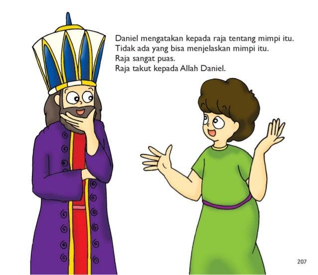Raja sangat terkesan dengan hikmat Daniel.  Raja menempatkan dia dalam posisi yang tinggi.  Raja memberikannya banyak hadi...