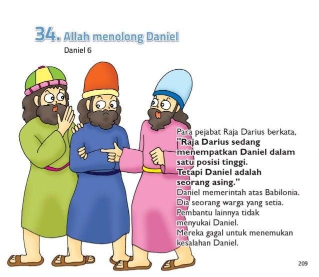 "210  Mereka meminta raja  untuk membuat hukum baru.  Hukum berkata,   ""Setiap orang harus berdoa dan tunduk hanya kepada r..."