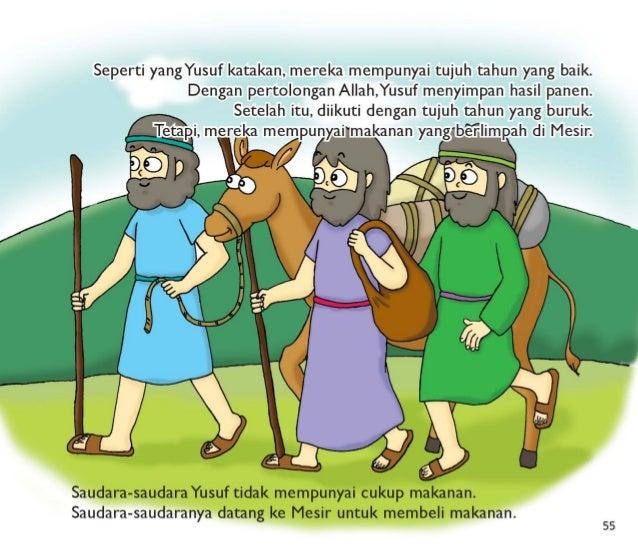 Seperti yangYusuf katakan,  mereka mempunyai tujuh tahun yang baik.  Dengan pertolongan Allah, Yusuf menyimpan hasil panen...