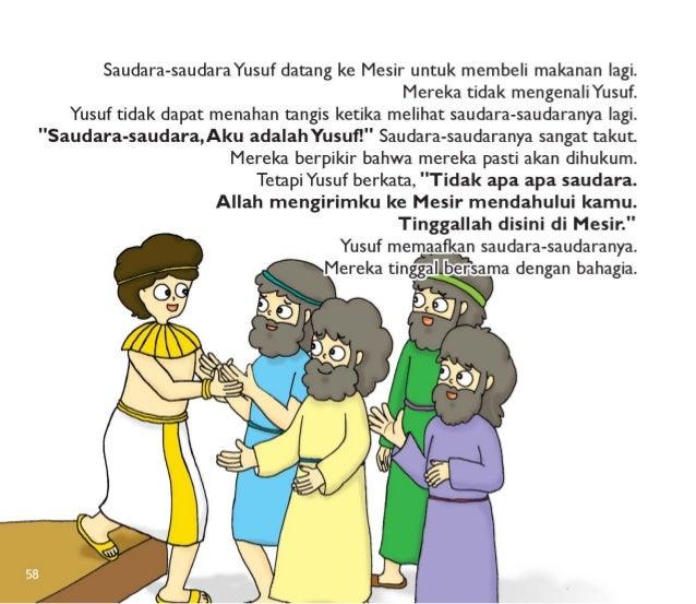 Saudara-saudaraYusuf datang ke Mesir untuk membeli makanan lagi.   Mereka tidak mengenaliYusuf.   Yusuf tidak dapat menaha...