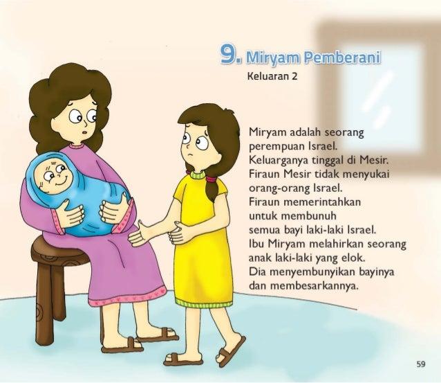 9). . Mlllliljalml Peurnlligerajnil Keluaran 2                               Miryam adalah seorang perempuan Israel.  Kelu...