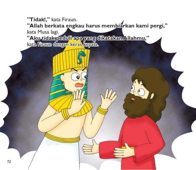 Firaun membuat orang Israel bekerja lebih keras.   Umat Israel bahkan tidak mempunyai waktu untuk makan.  Allah berkata ke...