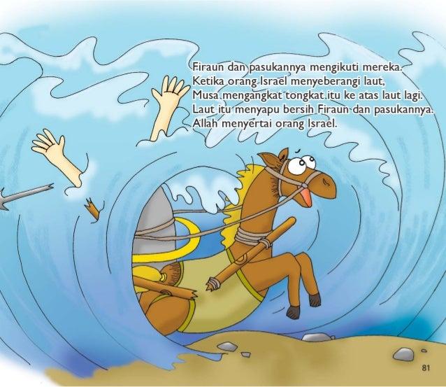 Umat Allah bebas.  Mereka tidak lagi menjadi budak.   Musa dan orang Israel bernyanyi dan menari dengan penuh sukacita.  M...