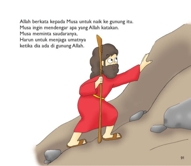 92  Allah berbicara kepada Musa di Gunung Sinai.  Allah memberikan  Musa |0 perintah.   Umat Allah harus menaati perintah ...