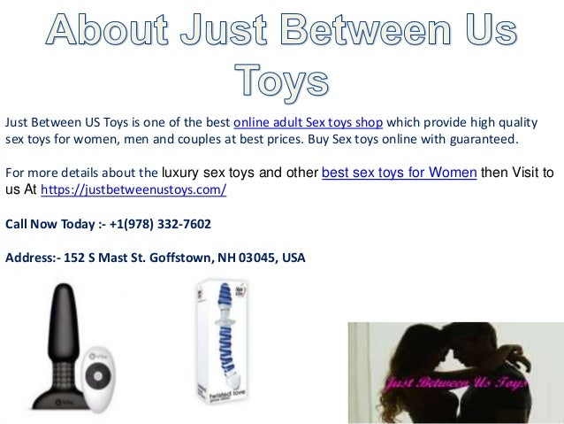 Where to buy sex toys online
