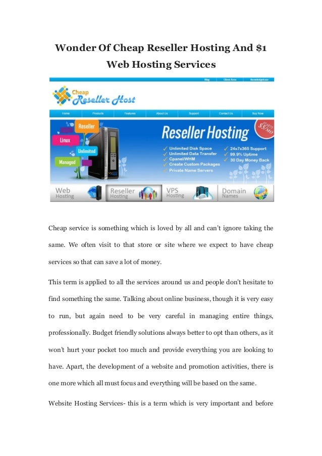 Reseller Hosting - Cheap Reseller Hosting | Namecheap.com