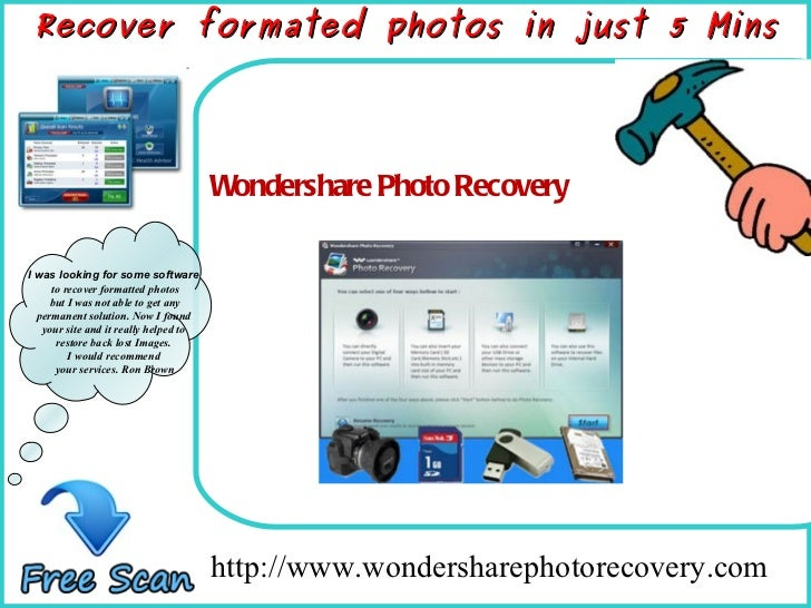 How To Remove http://www.wondersharephotorecovery.com  Wondershare Photo Recovery Recover formated photos in just 5 Mins I...