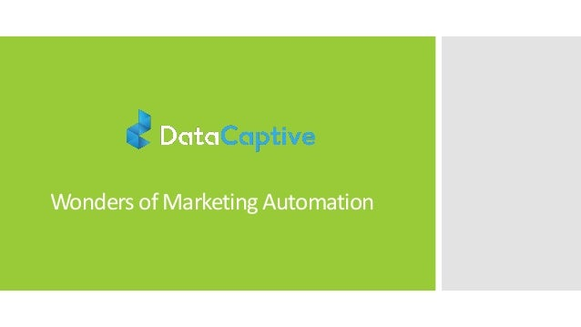 Wonders of Marketing Automation