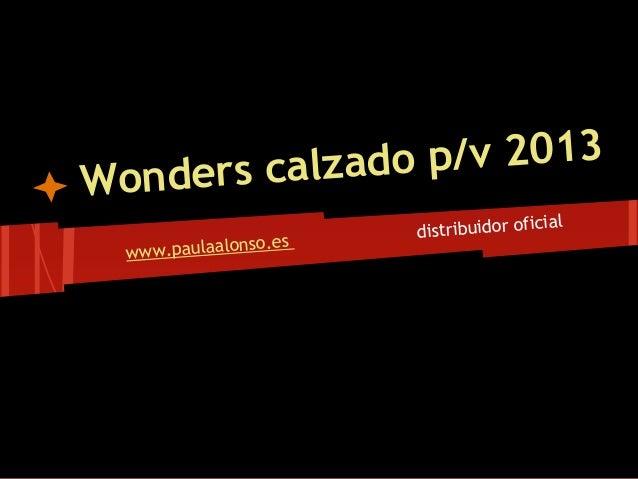 rs calzado p/v 2013Wonde                                          ial                        distribuidor ofic            ...