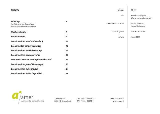 Beeldkwaliteitplan Wonen op een boerenerf, Waardhuizen Slide 2