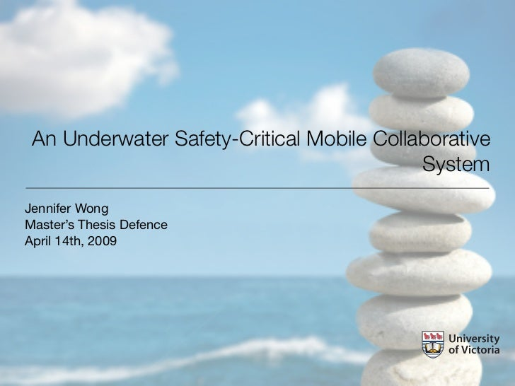 Masters Thesis Defence Presentation