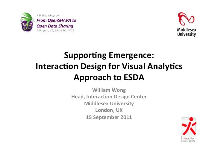NSF Workshop on  From OpenSHAPA to  Open Data Sharing Arlington, VA, 15-‐16 Sep 2011     ...