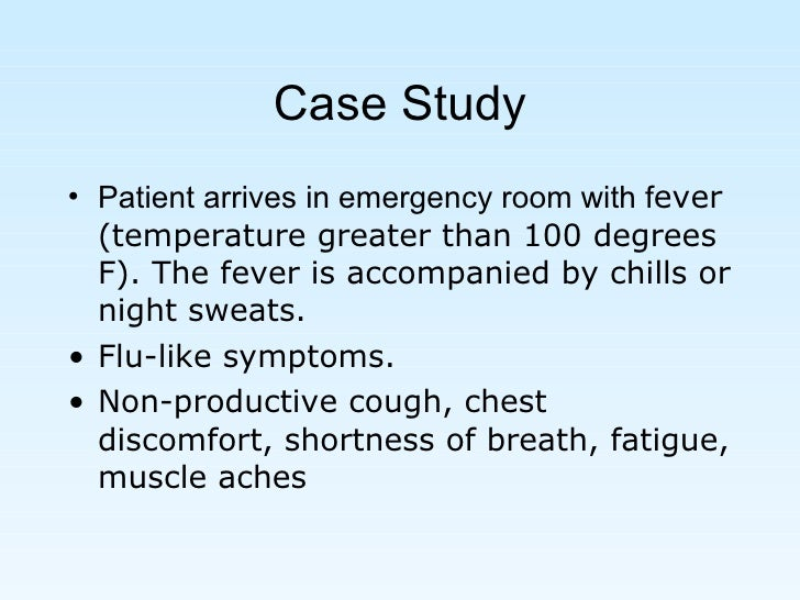 medical microbiology case study Introduction to microbiology – case study 1 kristen alejos you are working as an emergency room nurse in topeka when a mother brings in her 8 year old son because of severe, bloody diarrhea.