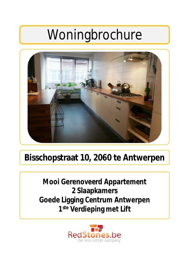 woningbrochurebisschopstraat 10 2060 te antwerpen mooi gerenoveerd appartement 2 slaapkamers
