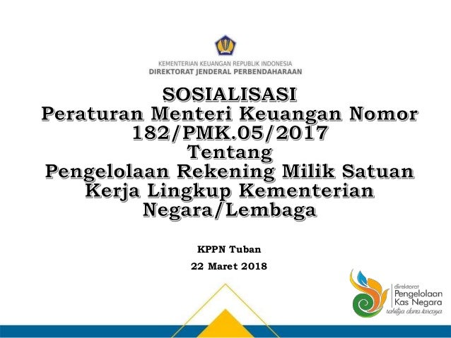 KPPN Tuban 22 Maret 2018