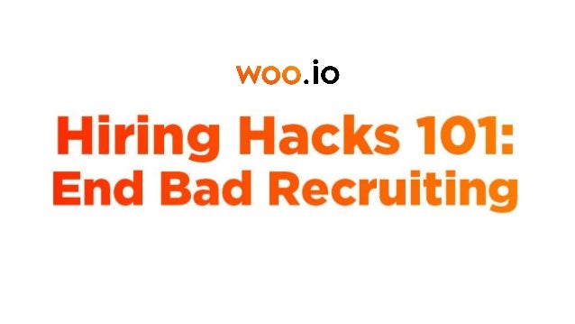 Why the recruiting market is broken While 80% of candidates are interested in exploring new job opportunities, only 20% ac...