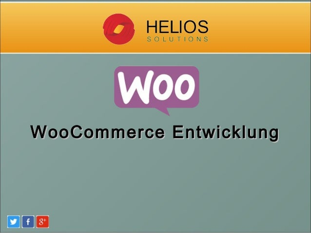 WooCommerce EntwicklungWooCommerce Entwicklung