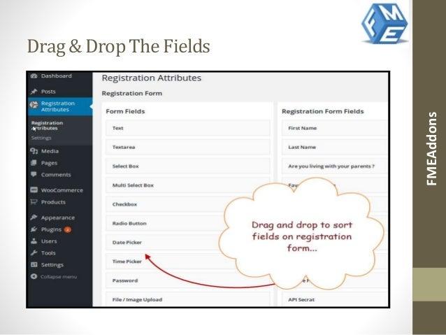 Wordpress Custom Registration Page Plugin By FMEAddons