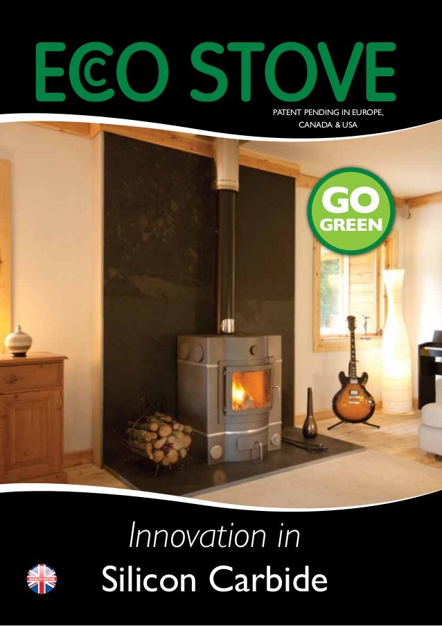 Energy Efficient Wood Burning Stove Model E678 From EcooStove