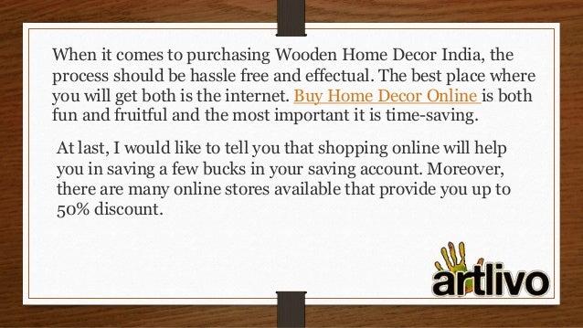 Wooden Home Decor India Decorative Items