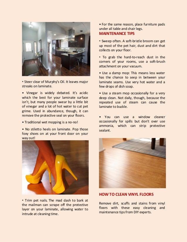 Wooden Laminate Vinyl Concrete Cork Hardwood And Ceramic Tile Fl - How to clean oil off tile floor