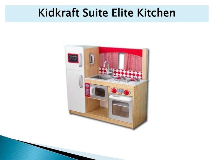 Wooden play kitchen kidkraft suite elite kitchen 16 workwithnaturefo