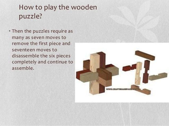 Mongolian Interlocking puzzle