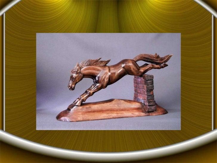 Wooden sculptures from Sergei Cherchenov Slide 2