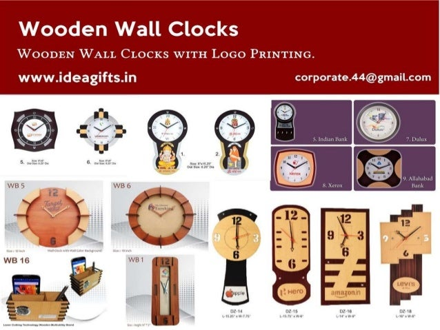 Manufacturer U0026 Wholesaler Of Promotional Wall Clock   Wooden Wall Clock,  Glass Clock Photo And ...