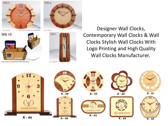 Wooden Wall Clocks Manufacturer Of Personalized Wall Clock