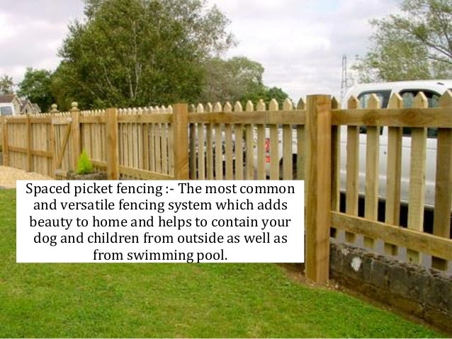 Wood Fencing Ideas For Increasing Privacy