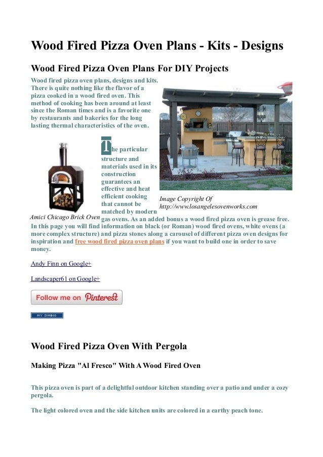 wood fired pizza oven plans and designs 22959351