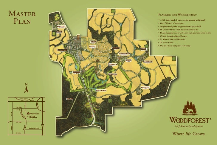 Woodforest map