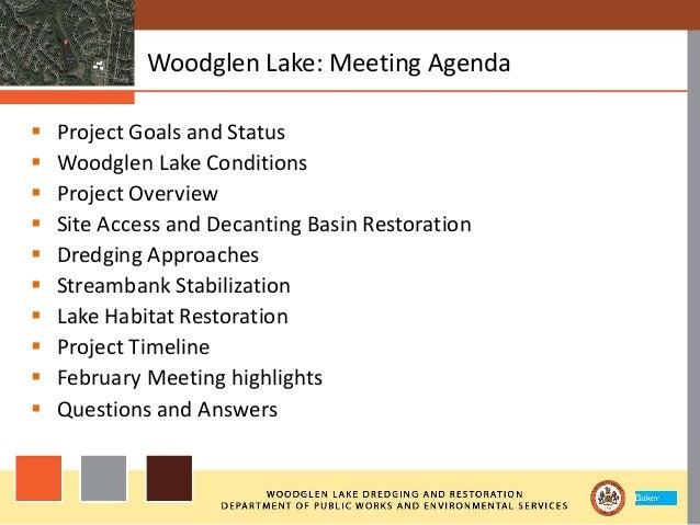 Woodglen Lake Dredging and Restoration Slide 2