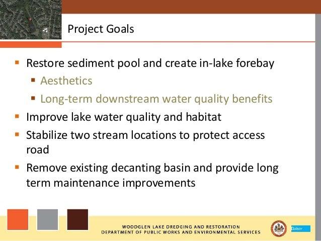 Woodglen Lake Dredging and Restoration Slide 3