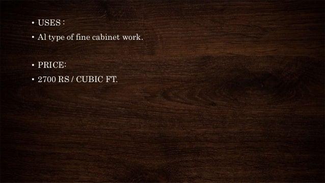Casestudy Of Wood Furniture Design
