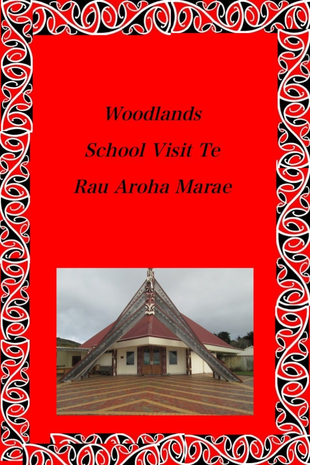 Woodlands School Visit Te Rau Aroha Marae
