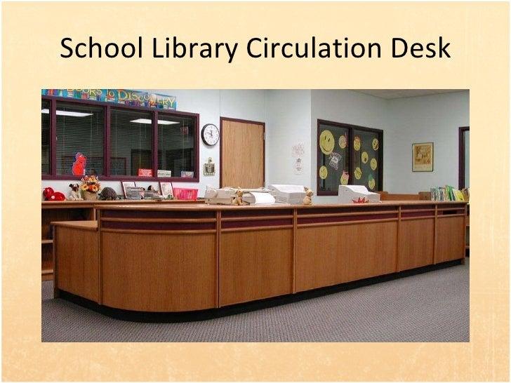 17 school library circulation desk - Library Circulation Desk Design