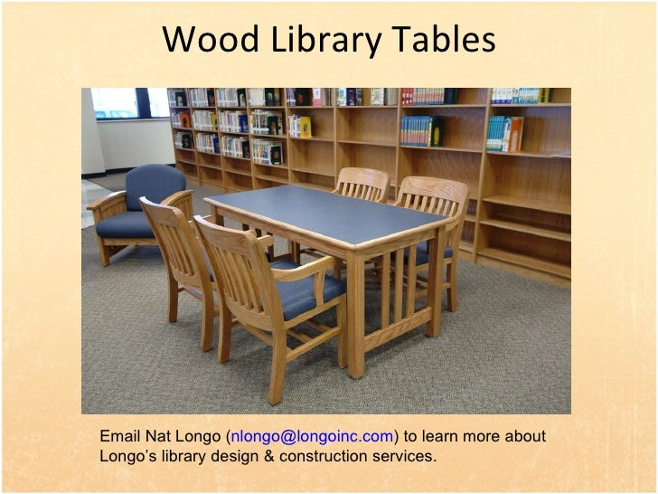 Library Reading Study Tables  26  Wood. Wood Library Furniture and Shelving For Libraries