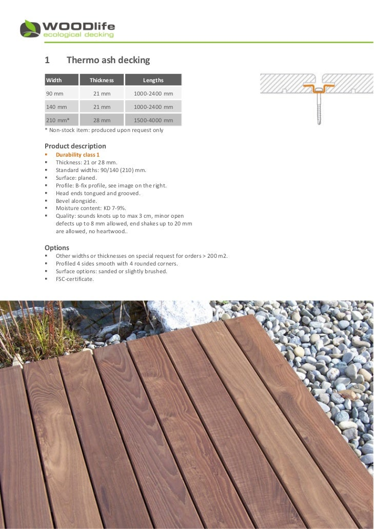 Wood floor decking thickness gurus floor for Timber decking thickness