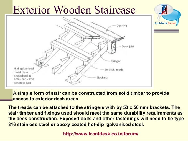 21. Http://www.frontdesk.co.in/forum/ Exterior Wooden Staircase ...